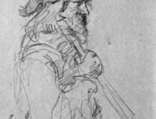 (1463s) Daniel Boone – Sketch