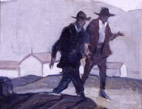 (1786al) Two Men Walking