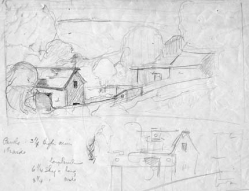 (1880sb) Chandler Farm – Preliminary Sketch