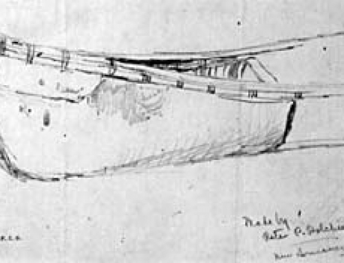 (M18) Canoe Sketch