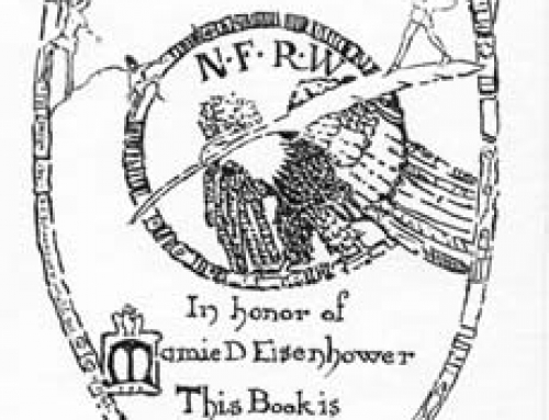 (M17) Book Plate: NFRW in Honor of Mamie Eisenhower
