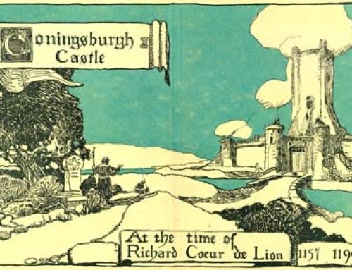 (1175a) Coningsburgh Castle At the Time of Richard Coeur de Lion